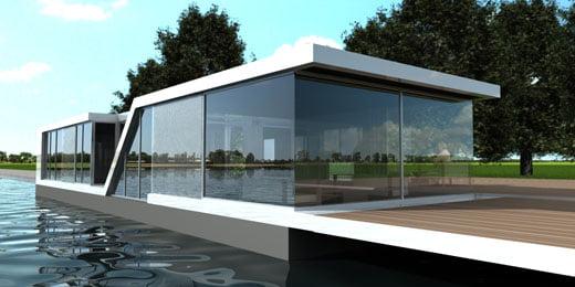 Casas de vidrio modernas for Archi in casa moderna