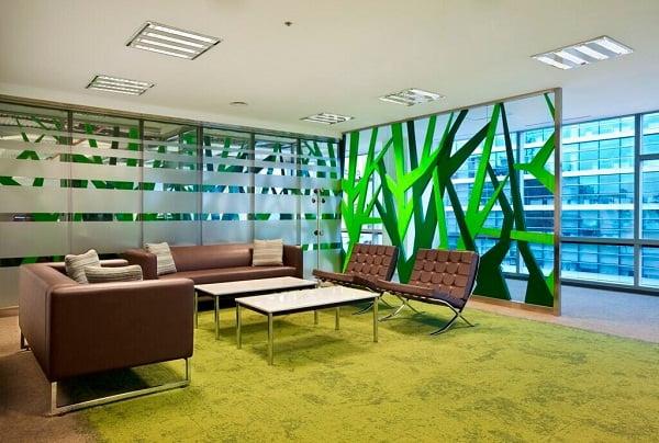 Diseño de interiores de oficinas modernas | Arkiplus