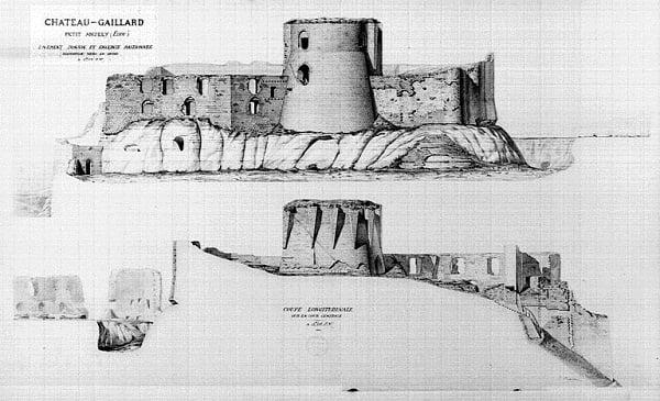 Castillo de Gaillard3