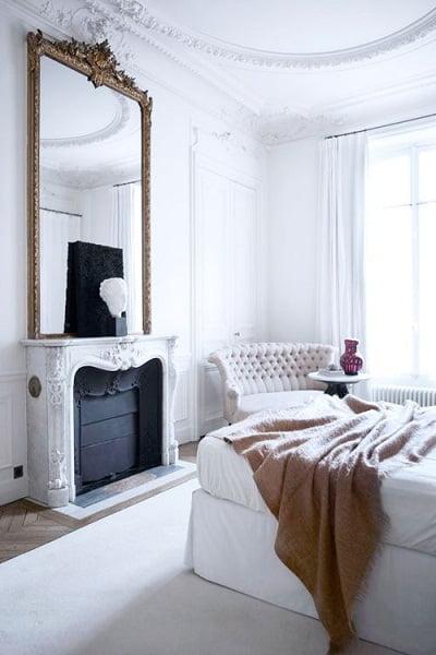 decoracion en blanco para dormitorio