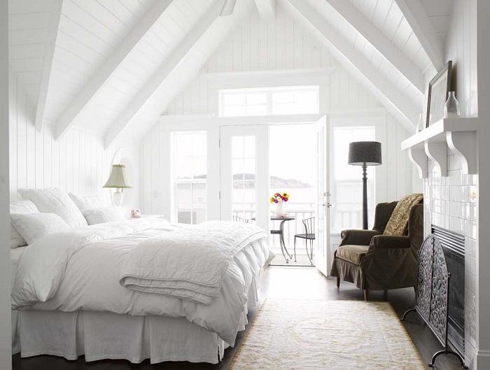 ideas dormitorio Ideas Para Decorar Dormitorios En Color Blanco Arkiplus