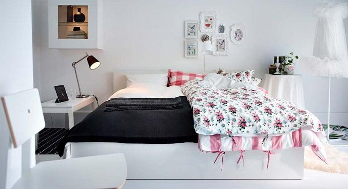 dormitorios pintados de blanco