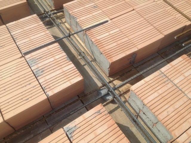 Losa de ladrillos arkiplus for Losas de hormigon para jardines