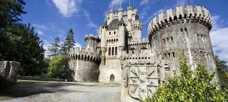 Castillo de Butron en País Vasco