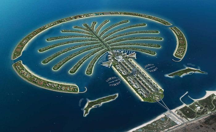 Islas Palmeras De Dubai Arkiplus