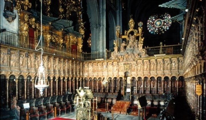 El Coro De La Catedral De Toledo Arkiplus