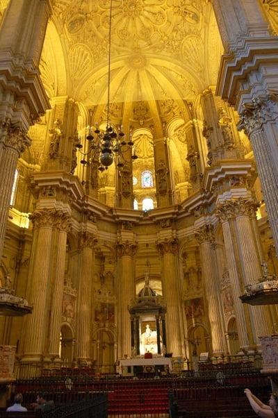 Altar de la Catedral de Málaga