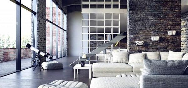Estilo loft de dise o de interiores for Estilo eclectico diseno de interiores