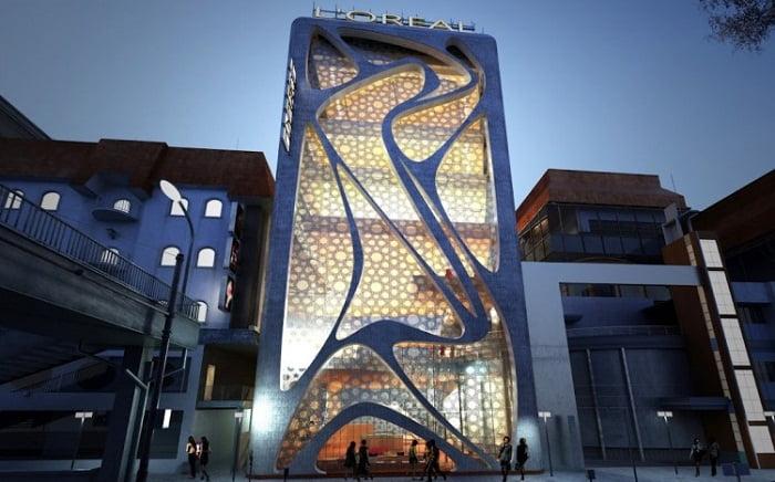 Edificio L'Oreal de Beirut