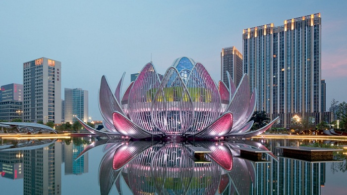 Edificio Lotus de China