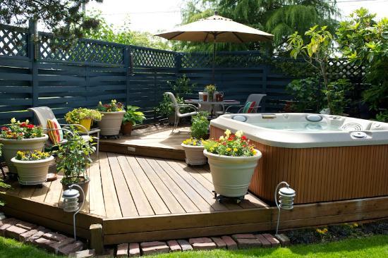 ideas deck de madera