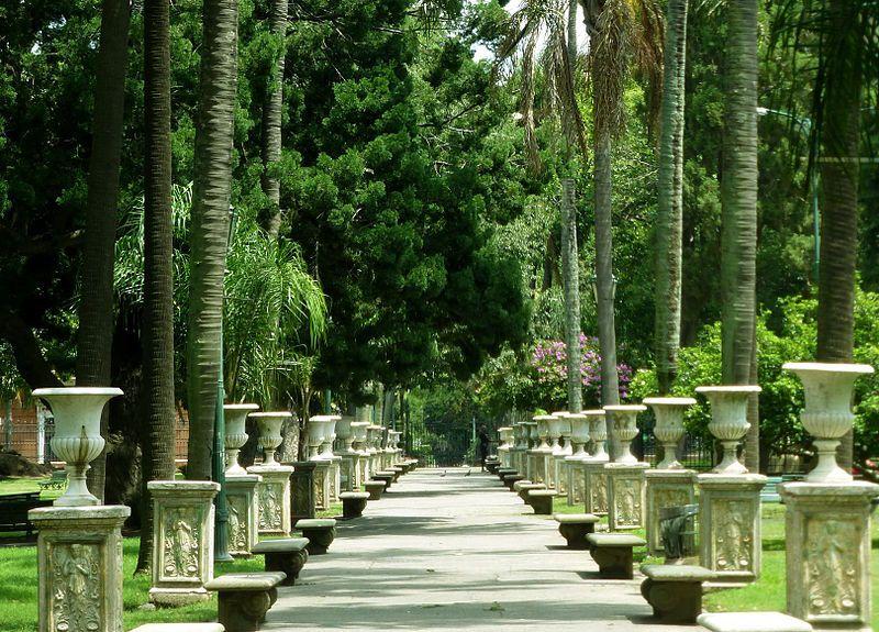 Parque Lezama de Buenos Aires