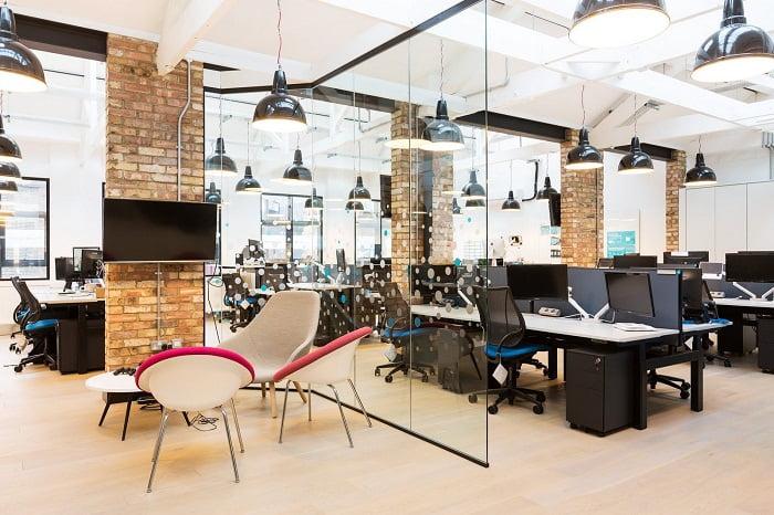 ideas para diseñar el interior de una oficina corporativa