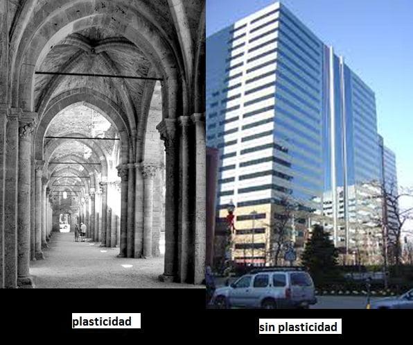 definicion de arquitectura plastica