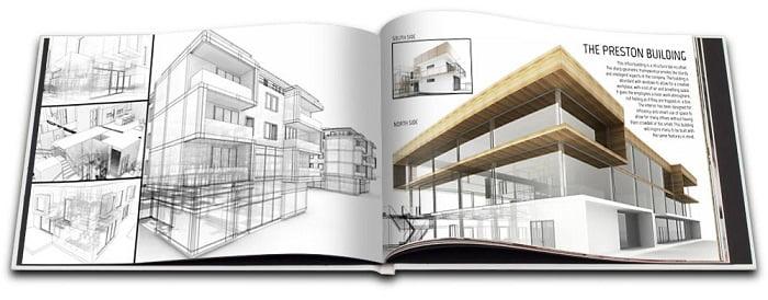 Portafolios de un arquitecto