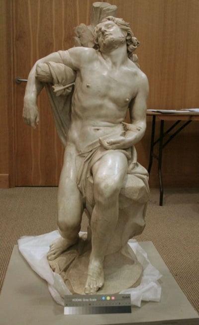 Obra del gran escultor barroco Bernini