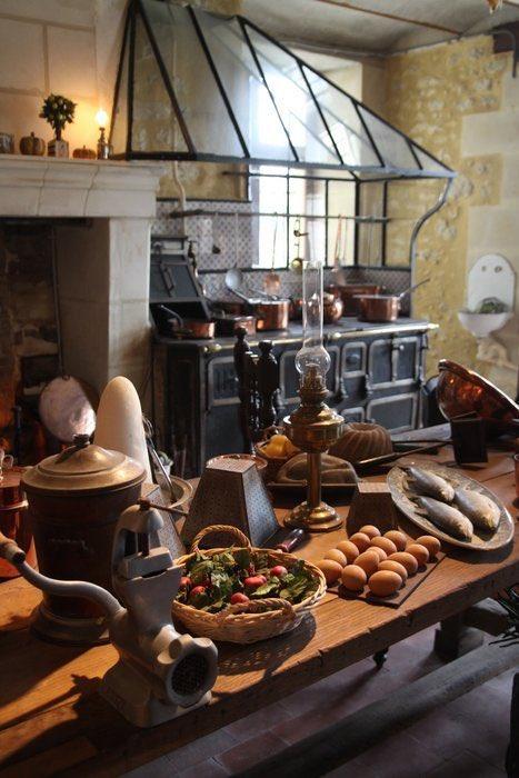 Cocina en una casa de campo