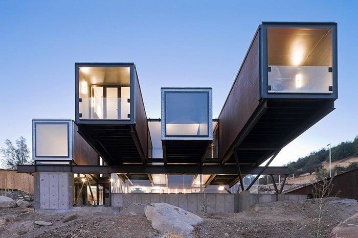 arquitectura de contenedores en Santiago de Chile