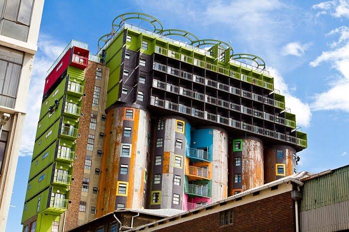 arquitectura de contenedores en Sudáfrica