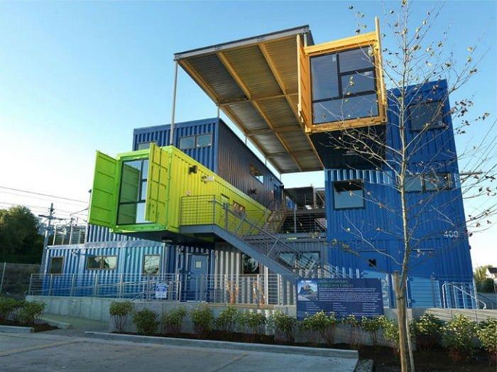 arquitectura con contenedores en Estados Unidos