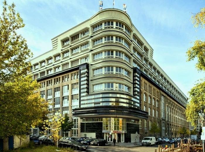 Mossehaus de Berlin - arquitectura art decó