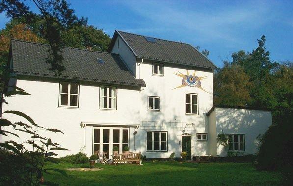 ejemplo de una casa de la Escuela de Delft