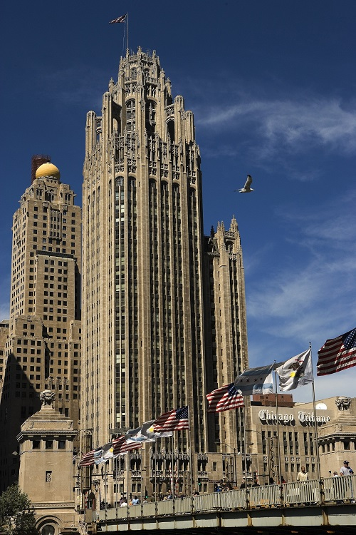 Chicago Tribune - arquitectura art deco