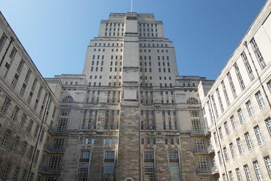 Edificio del Senado de Londres - arquitectura Art Deco