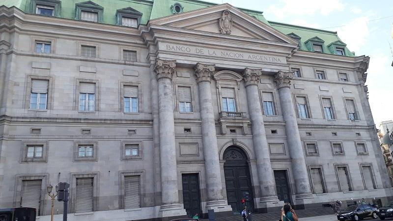 Edificio Banco Nación. Casa central