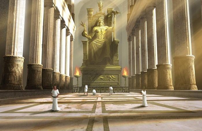Zeus, ejemplo de escultura griega clásica