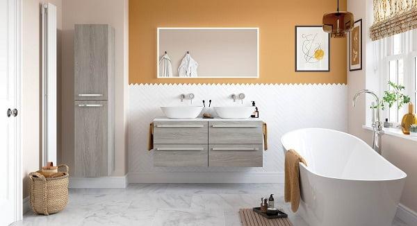 ejemplos de baños modernos