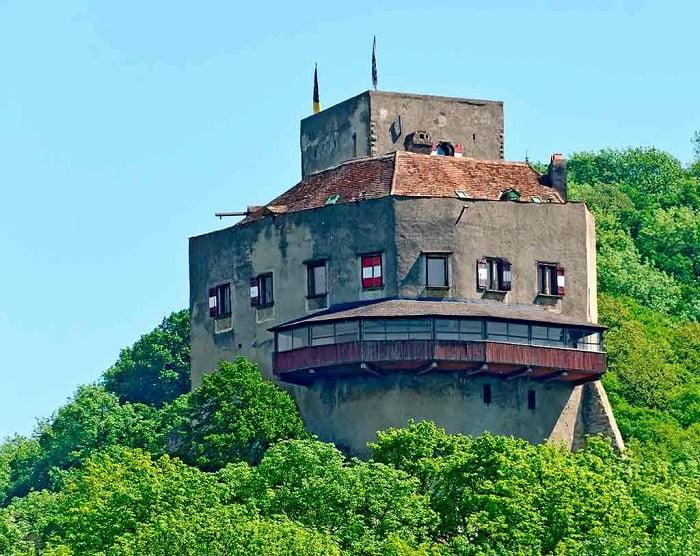 Castillos de Austria. Burg-Greifenstein