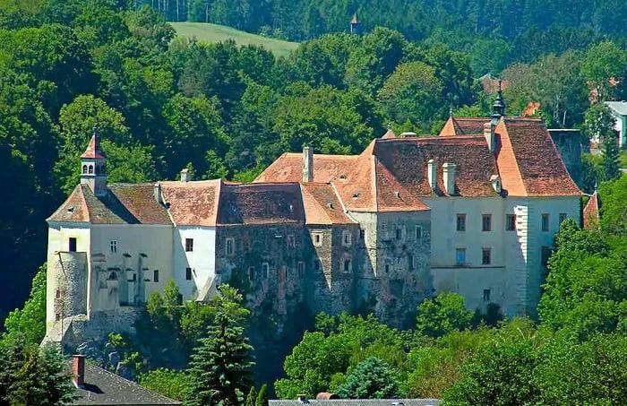 Castillos de Austria - Burg-Raabs-an-der-Thaya