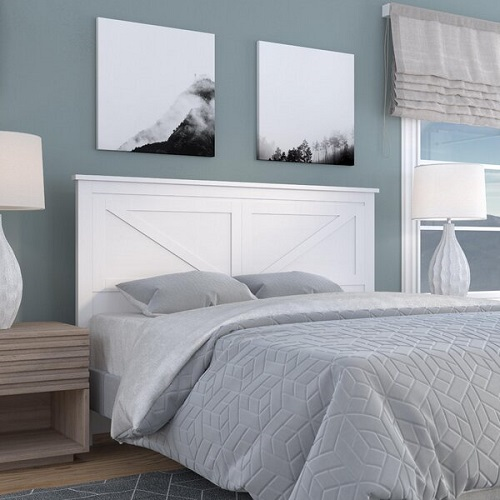 cabeceras de cama color blanco