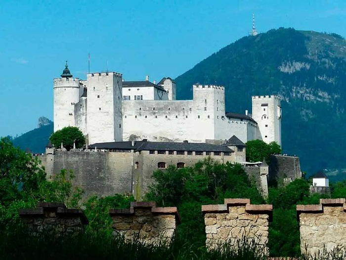 Castillos de Austria. Hohensalzburg