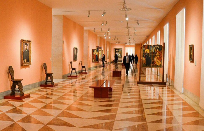 Museo Thyssen interior